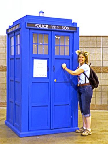 Me at Denver Comic Con